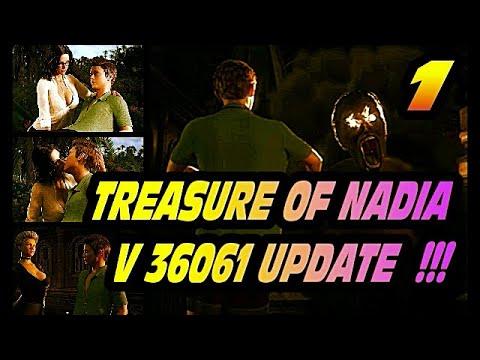 Treasure Of Nadia V 36061 Update Walkthrough1: Gothic Key, 4 Broken Keys, Chest Key, Puzzle Crypt 👍!