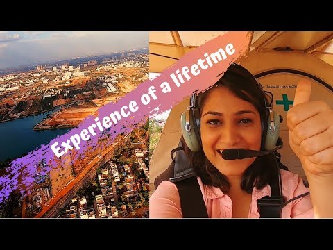Microlight Flying Bangalore | The Most Thrilling Experience of my life (till now ;P)