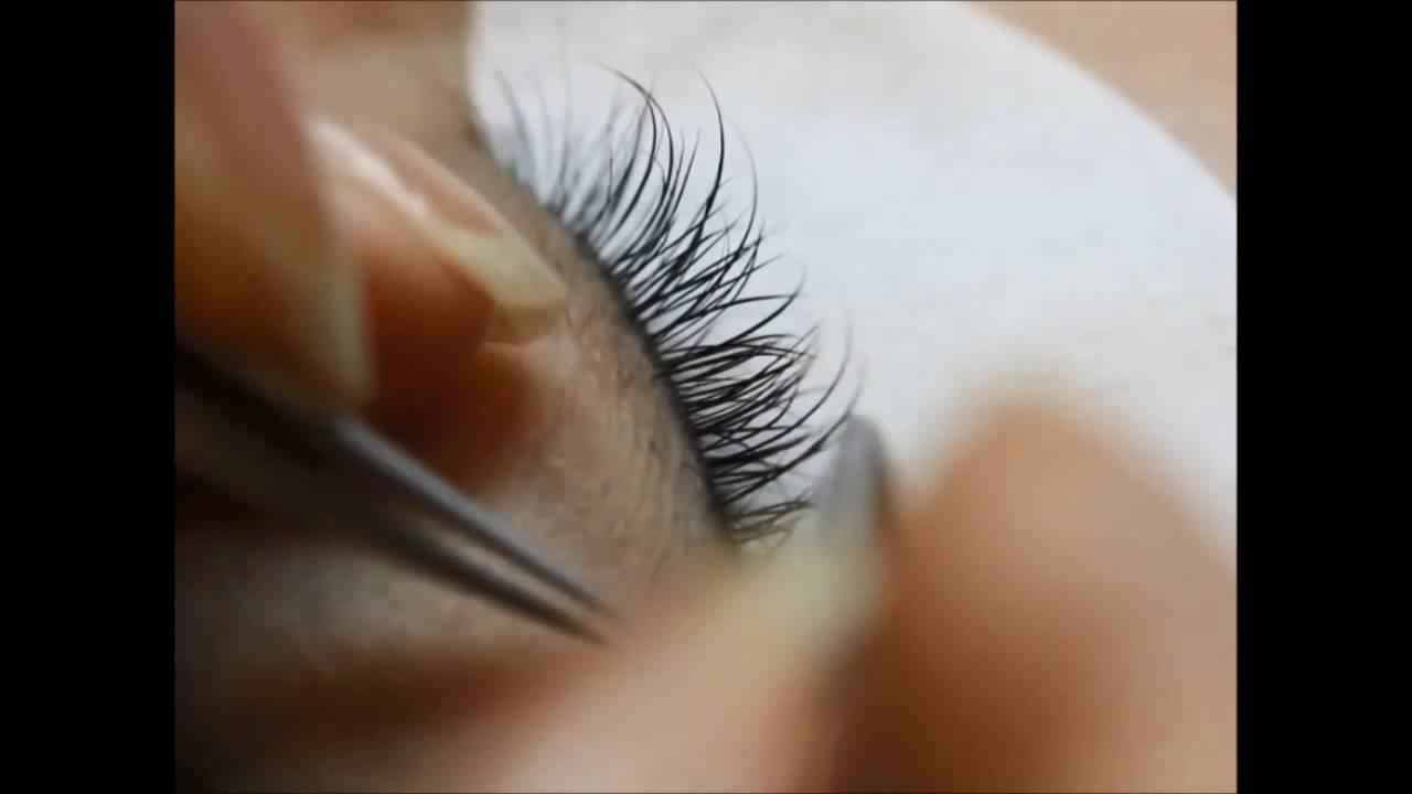 Korean Eyelash Extensions Youtube