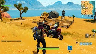 Fortnite: Secret Battle Star Season 6 Week 1 Location