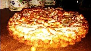 Яблочный пирог из песочного теста от Нади.(Видео-описание приготовления вкусного яблочного пирога из сметанно-песочного теста. Быстро и легко. https://www...., 2013-10-30T14:39:03.000Z)