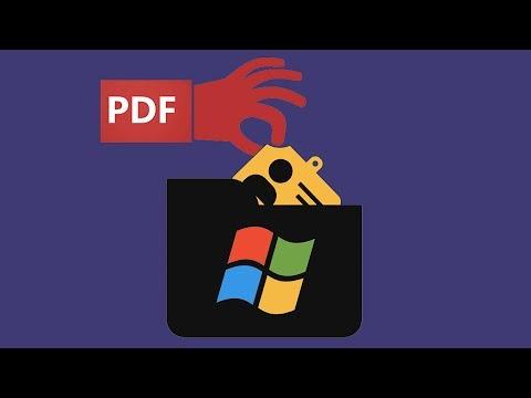 BADPDF – Stealing Windows Credentials Via PDF Files