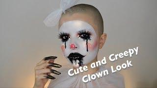 Cute & Creepy Clown Makeup Tutorial for Halloween