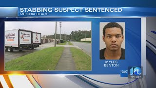 Virginia Beach stabbing suspect sentenced