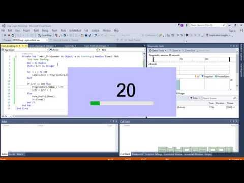 Cara Membuat Loading Di Vb.net