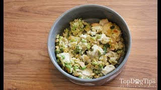 Homemade Dog Food for Large Dogs Recipe (New)