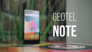 Самый неизвестный ноунейм из Китая. Geotel Note. Распаковка и первое впечатление.