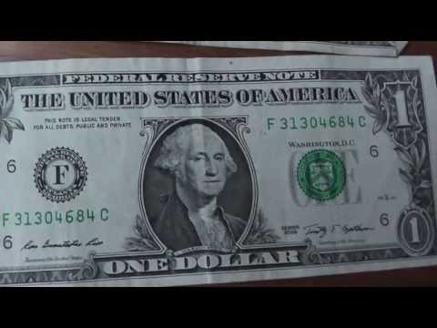 Interesting Facts About The One Dollar Bill