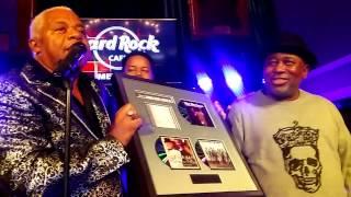 Bar-Kays' James Alexander's Birthday party at the Hard Rock Cafe thumbnail