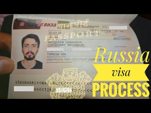RUSSIA VISA PROCESS | INVITATION LETTER | FEES | VISA IN 3 D