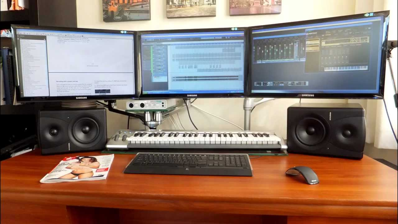 Home recording studio complete setup youtube for Home with recording studio for sale