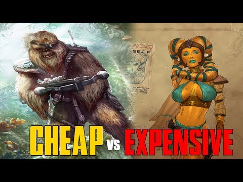 How much did Star Wars Slaves COST? And why some were more Expensive than Others