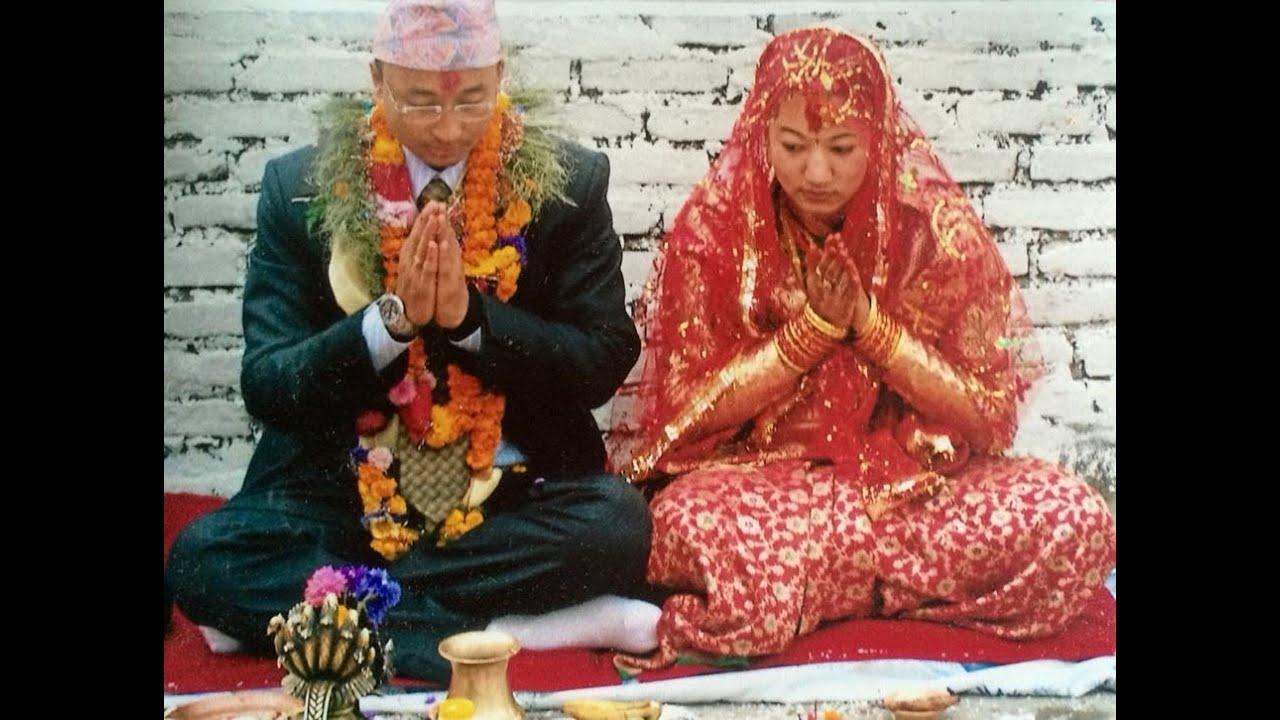 Traditional nepali wedding newari marriage ceremony in for Wedding dress nepali culture