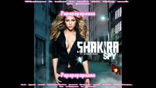 Shakira-Spy (Feat. Wyclef Jean) (Inglés / Español)