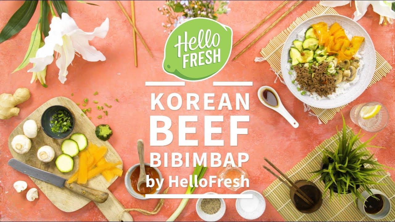 How To Make Korean Beef Bibimbap Youtube