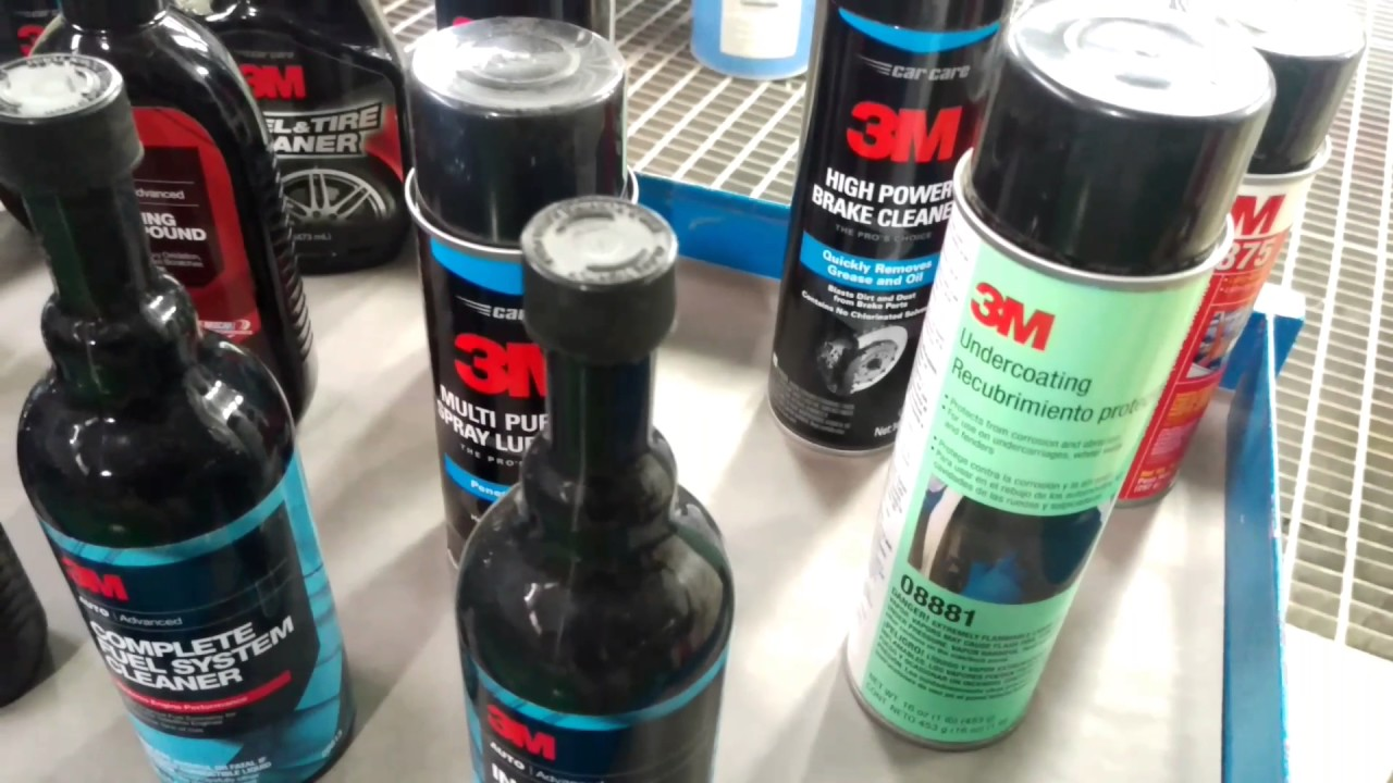 3m Car Care Products Youtube