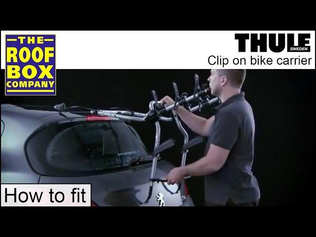Thule Clip On - rear mounted Bike