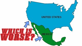 The UNITED STATES and MEXICO COMPARED