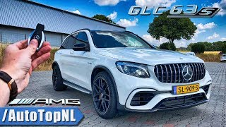 MERCEDES-AMG GLC 63 S REVIEW POV Test Drive on AUTOBAHN & ROAD by AutoTopNL