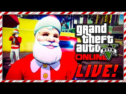 GTA 5 Online Christmas DLC Gameplay - NEW GTA Online Cars, Weapons ...