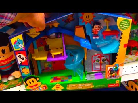 JULIUS JR Rock 'n Playhouse Box by FISHER PRICE [Nickelodeon] TOY REVIEW