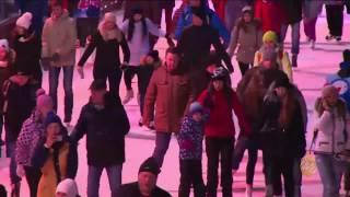 افتتاح أكبر حلبة للتزلج على الجليد بأوروبا
