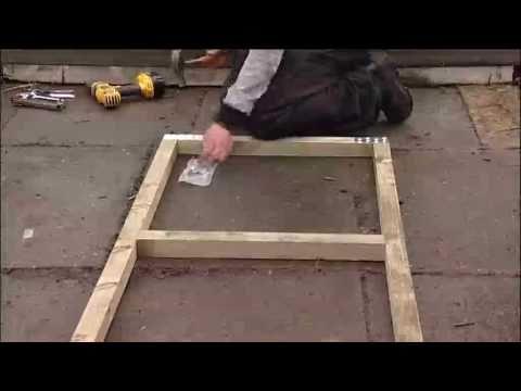 Polytunnel Construction - Door & Door Frame Assembly - V122