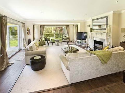 Interior design ideas large living room youtube - Decorating a large living room ...