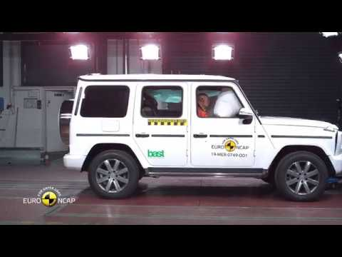 Euro NCAP Crash Test of Mercedes-Benz G-Class 2019