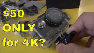 FLASH SALES -MGCOOL Explorer Pro 2 4K Action Camera Unboxing