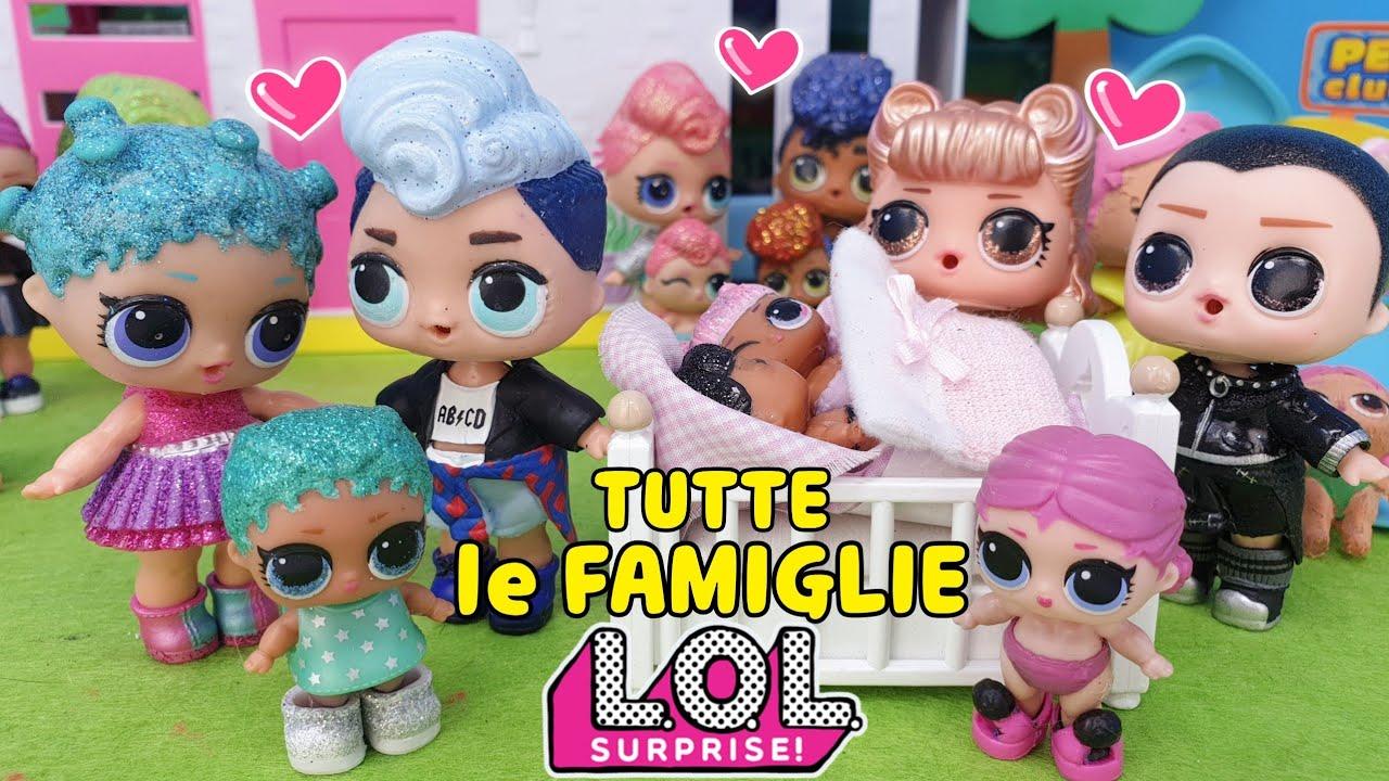 Lol Surprise Storie Tutte Le Famiglie Delle Lol Surprise Youtube