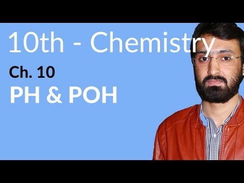 10th Class Chemistry ch 10,Ph & POH-Matric Part 2 Chemistry