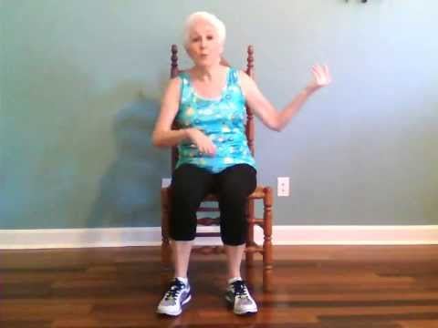Zumba gold chair routine doovi for Chair zumba