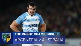 HIGHLIGHTS: 2018 TRC Rd 6: Argentina v Australia