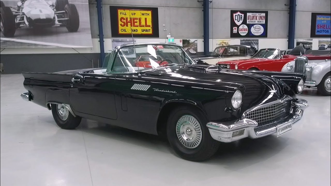 1957 Ford Thunderbird 312ci V8 Convertible (LHD) -  2020 Shannons Autumn Timed Online Auction