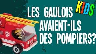 Les gaulois avaient-ils des pompiers - Question Histoire KIDS #7