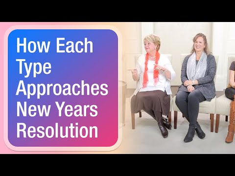 How Each Type Approaches New Years Resolution