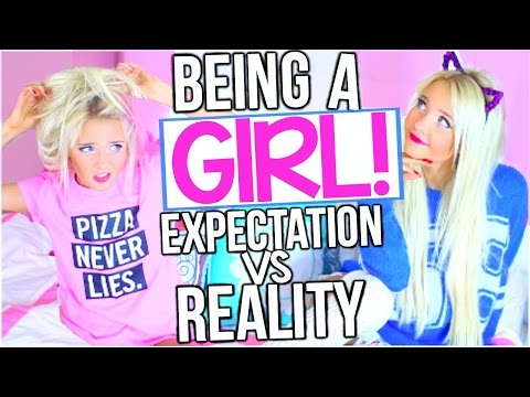 Alexa Mae - Быть Девушкой: Ожидание VS Реальность! ( RUS )