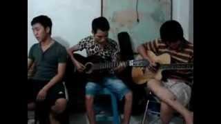 Đồng Dao - guitar tân ft. tý rock singer long lùn