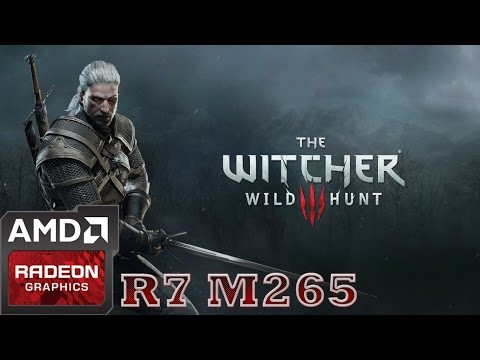 The Witcher 3: Wild Hunt on amd R7 M265 | HD