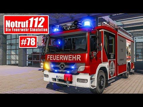 NOTRUF 112 #78: Feuerwehr-EINSATZ auf dem FELD! I Feuerwehr-Simulation