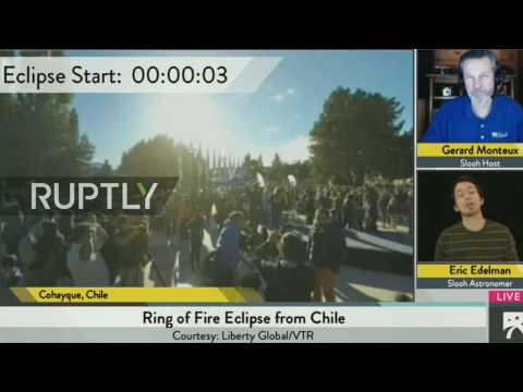 LIVE: Annular Solar Eclipse 'ring of fire' to be visible in Southern Hemisphere