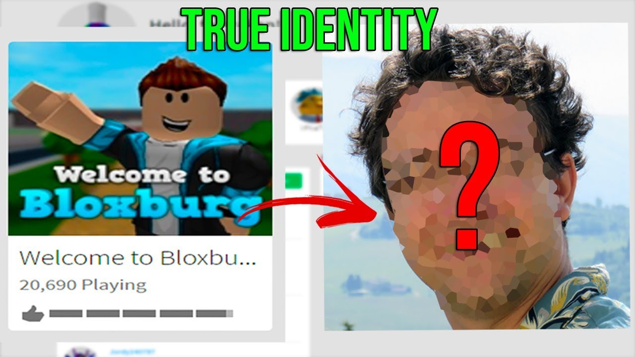Is This The True Identity Of The Owner Of Bloxburg Roblox Youtube