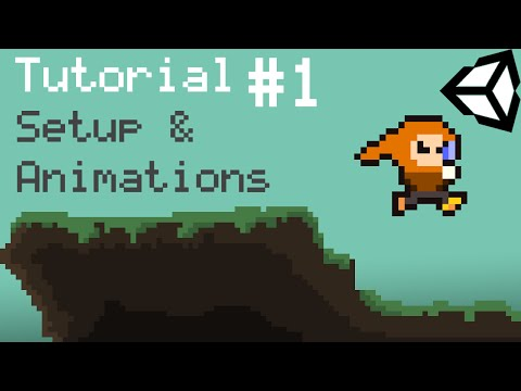 Unity 5 2D Platformer Tutorial – Part 1 – Setup, Animations