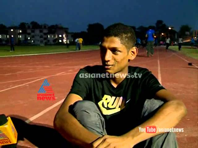 Afzal  Muhammad ready for Kerala School Meet :Kerala State Schools Athletics Meet