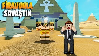 💥 We went back in time and fought the Pharaoh! 💥 | Time Travel Adventures | Roblox English