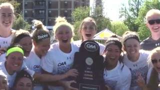Towson Tigers Top 10 Moments 2015-2016: #5 WLAX dominates JMU for CAA title