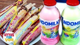 Video DIY Ice Cream VIRAL Beng Beng Various Flavors with 2 ingredients only download MP3, 3GP, MP4, WEBM, AVI, FLV Oktober 2018