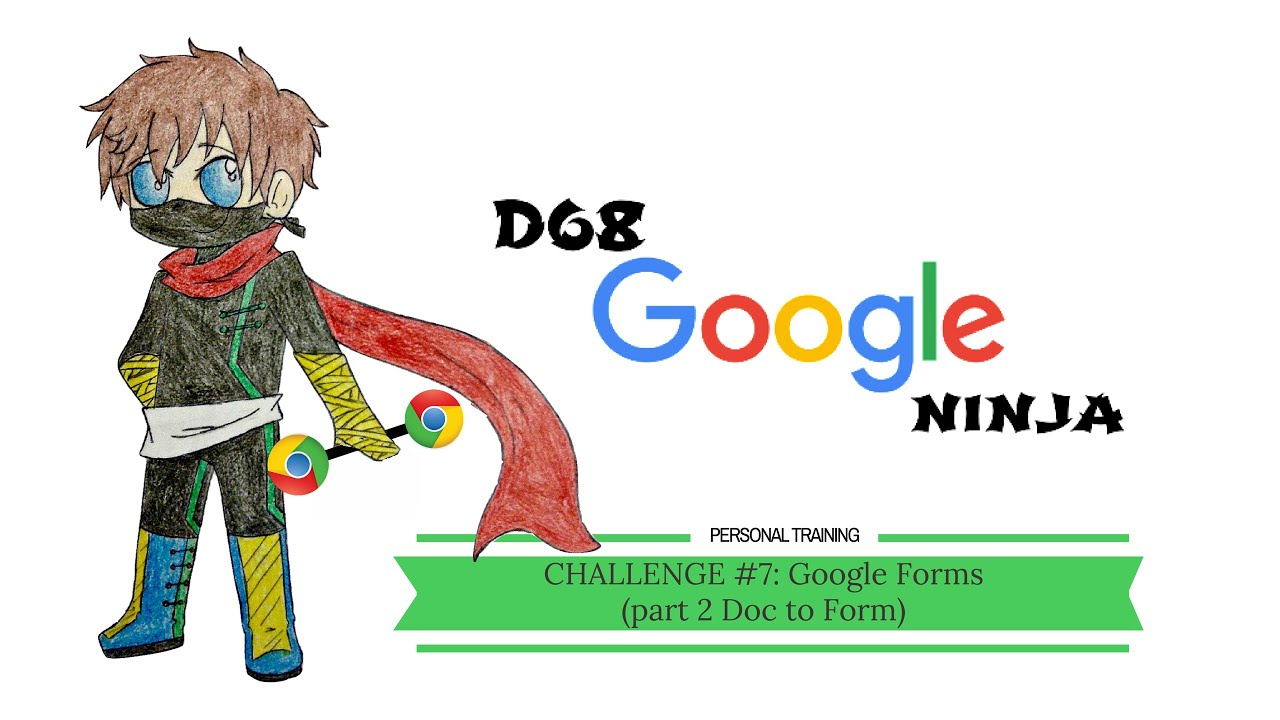 Google Challenge #7: Google Doc to Google Form - YouTube