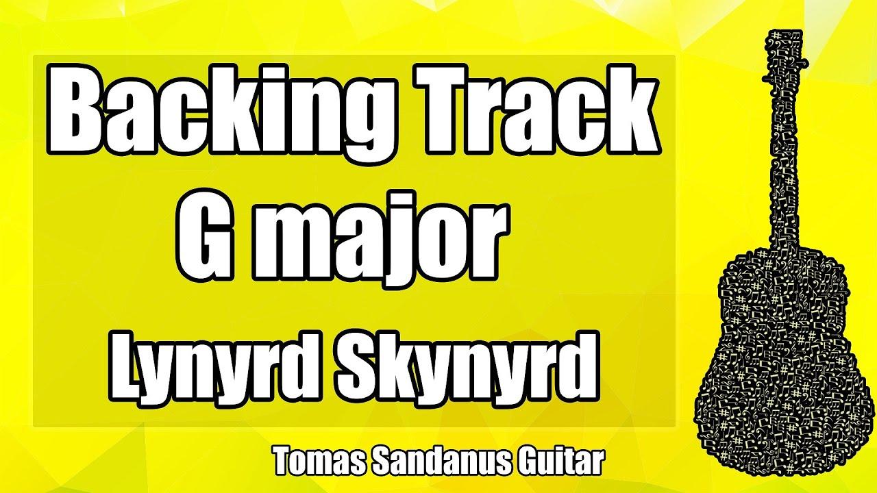 Mp3 download guitar backing track: Sweet Home Alabama Style Backing Track In G Major Lynyrd Skynyrd Rock Guitar Jam Backtrack Youtube